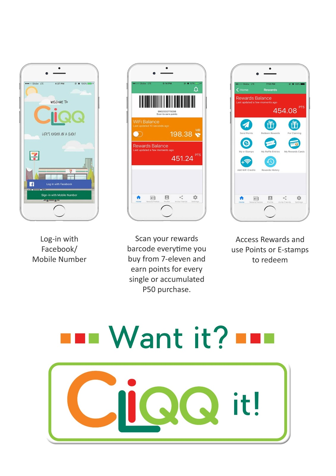 7-Eleven Rewards You With Every CLiQQ!