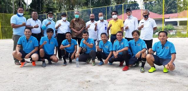 Dikalahkan Tuan Rumah, Tim Futsal PWI Padang Pariaman Akui Keunggulan Tim Futsal Batu Gadang Sungai Geringging