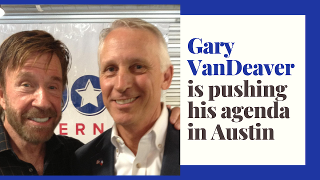 Rep. Gary VanDeaver is karate chopping red tape to get things done