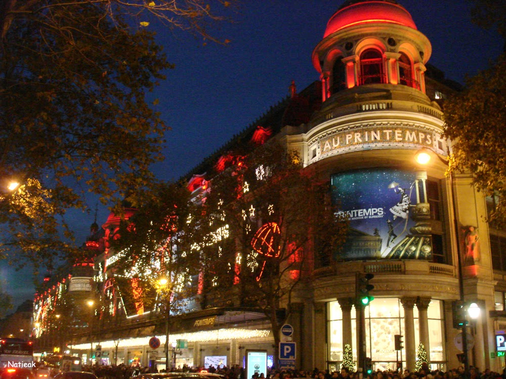 Illumination de Noël 2014 Au Printemps