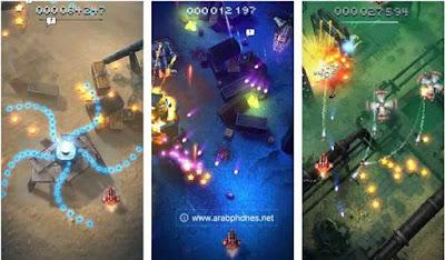تحميل لعبة sky force reloaded مهكرة للاندرويد أخر إصدار