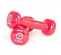 Poza gantere greutati de jumatate de kilogram bune pentru antrenament