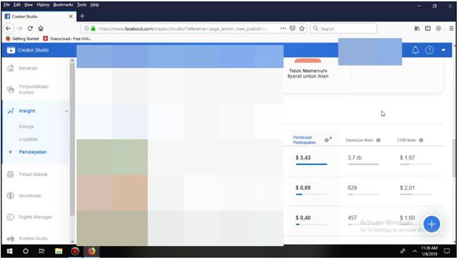 Cara Mendapatkan Uang $30/Hari dari Facebook Hanya Upload Video Bagian 2