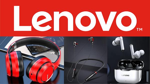 Queres uns earbuds ou headphones da Lenovo? Aproveitas estes preços
