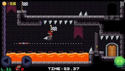 Platformer Escape: Dungeon Speed Run Style