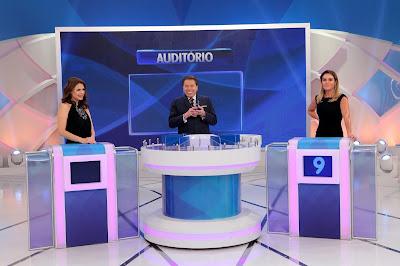Bruna, Silvio e Luize (Crédito: Lourival Ribeiro/SBT)