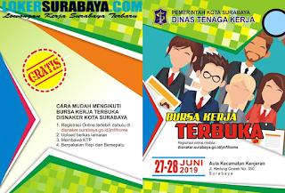 Bursa Kerja Terbuka Pemerintah Kota Surabaya Dinas Tenaga Kerja Juni 2019
