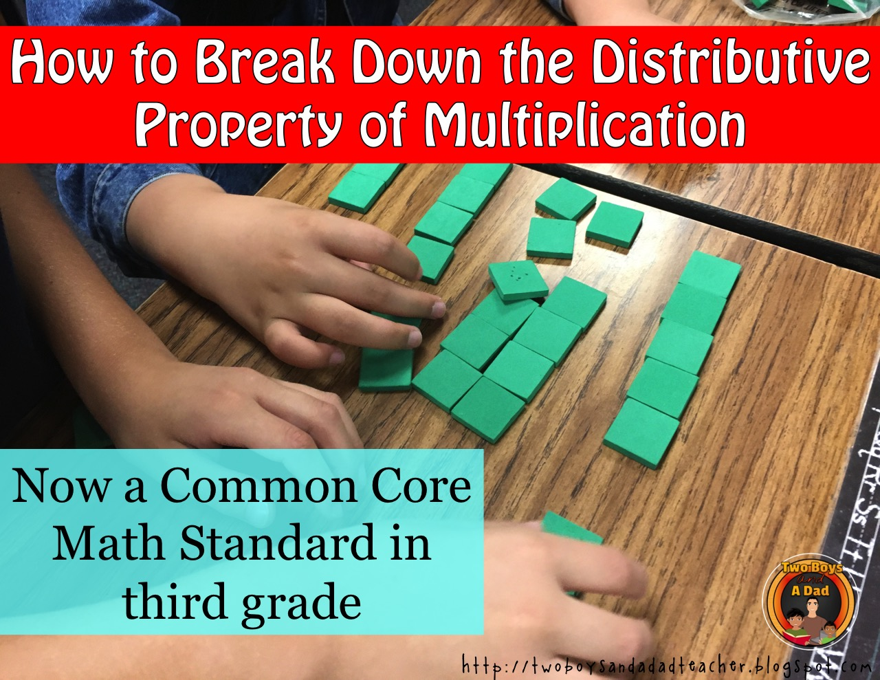 Using manipulatives to break down the Distributive Property of Multiplication
