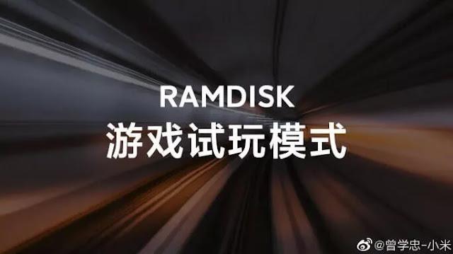 استخدام تقنية RAMDISK لتسريع العاب 20 مرة من شاومي