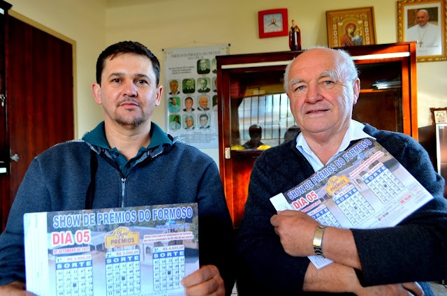 Show de prêmios do Formoso – Presidente Juliano e Padre Teofilo reforçam convite