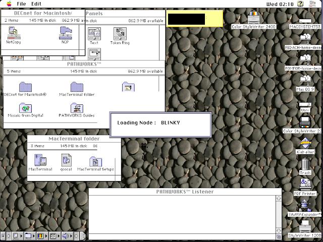 DECnet for Macintosh: Thursby Software TSSNET for Macintosh: Copy node database - Screen 5