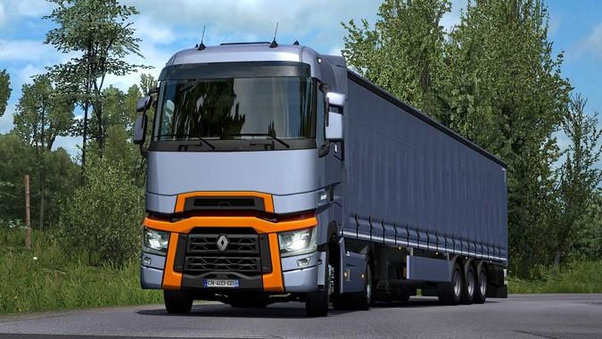 Renault Trucks T chega ao Euro Truck Simulator 2