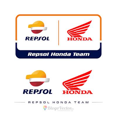 Repsol Honda Logo Vector