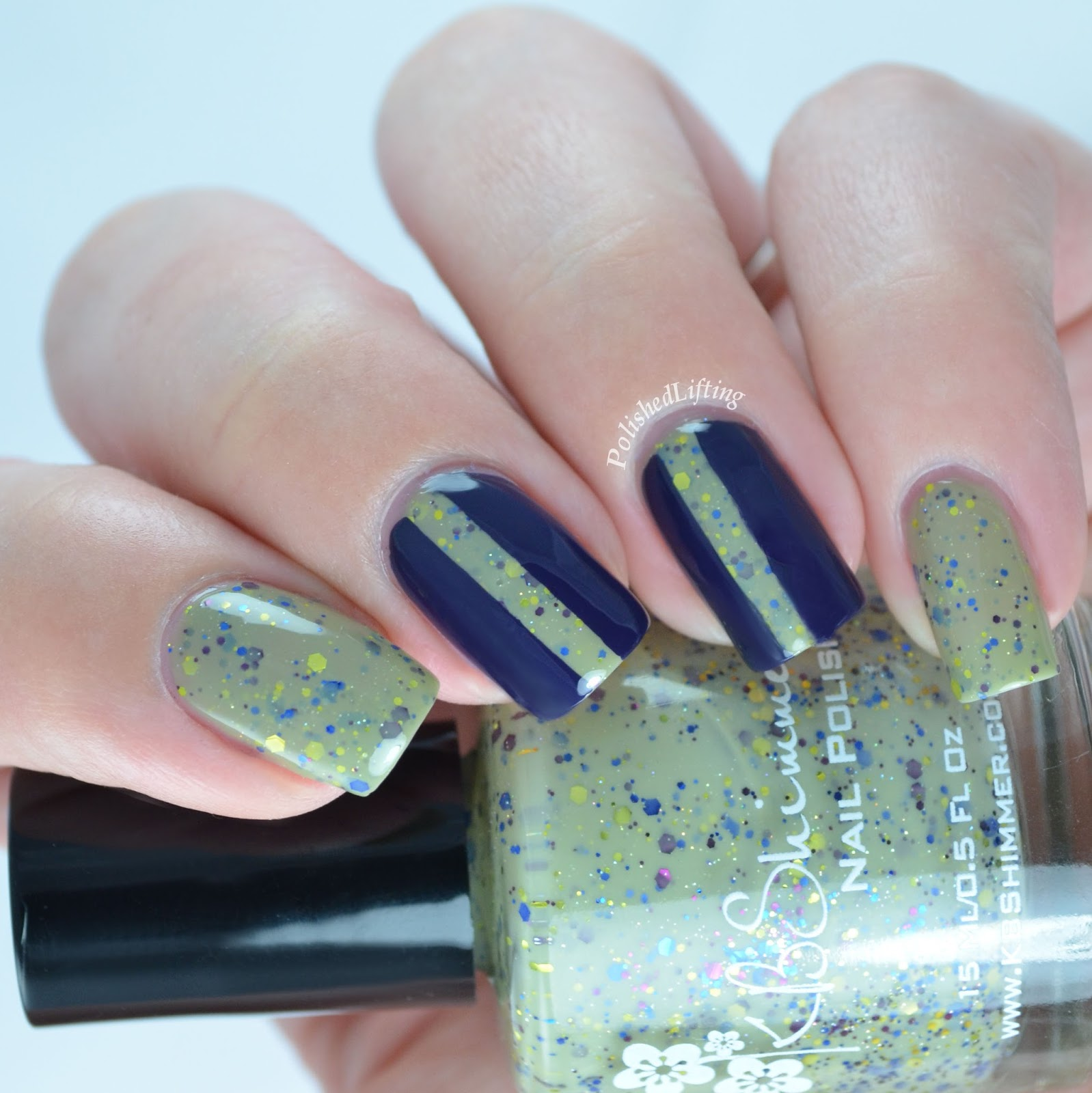 Polished Lifting: KBShimmer Open Toad Shoes Nail Art, Plus a Cuticle ...