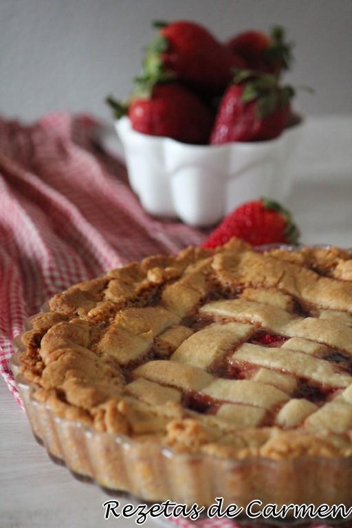 Crostata de fresas