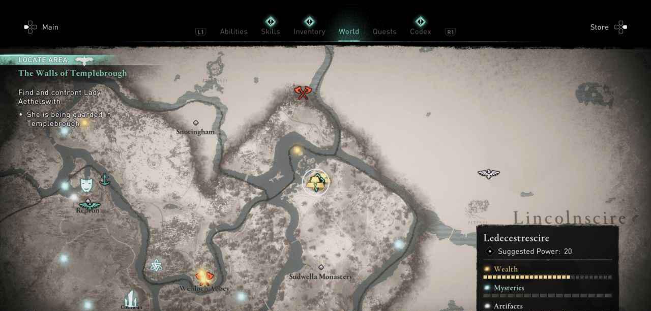 Ingot 23 Map