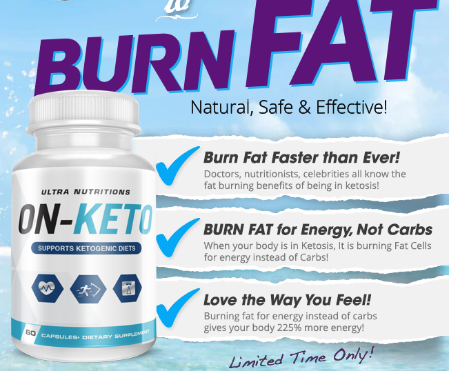 ON-Keto a fast way to Burn Fat with Rapid Absorption