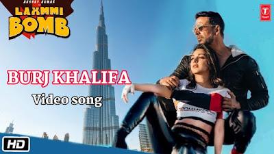laxmmi bomb - Burj Khalifa song rock the nation