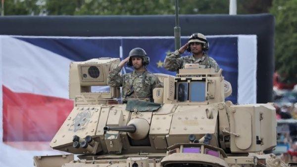 EE.UU. moviliza soldados para reforzar su presencia en Polonia