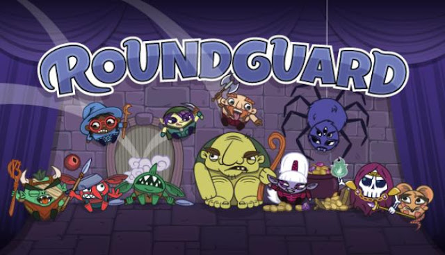 Roundguard underground walker with pinball physics, a lot of loot and a randomized castle with monsters.