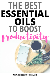 The Best Essential Oils To Boost Productivity