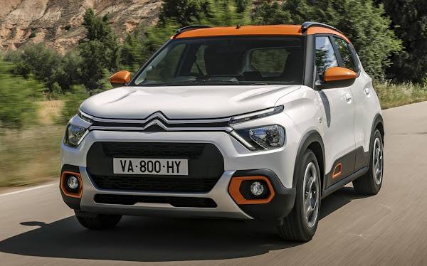 Novo Citroën C3 2022