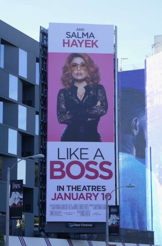 Like a Boss billboard