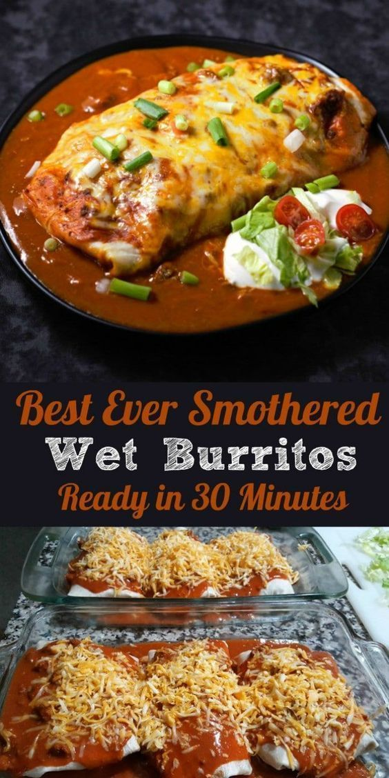 Best Ever Smothered Wet Burritos #recipes #foodandrecipes #food #foodporn #healthy #yummy #instafood #foodie #delicious #dinner #breakfast #dessert #yum #lunch #vegan #cake #eatclean #homemade #diet #healthyfood #cleaneating #foodstagram