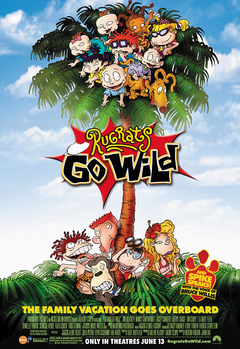 Rugrats Go Wild 2003 English Movie Web-dl 480p With Subtitle