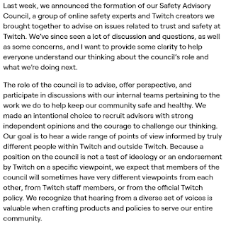 Twitch Encyclical