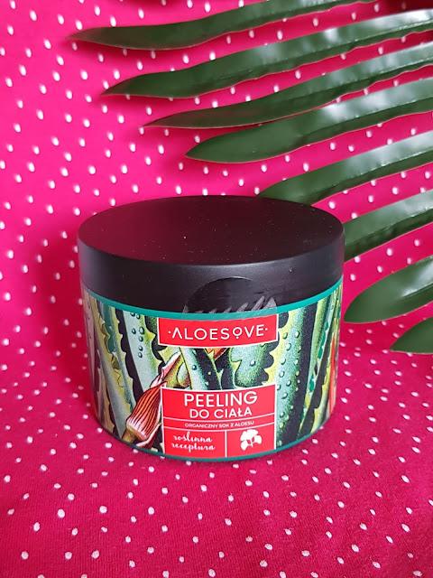 Aloesove peeling do ciała odświeżający