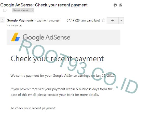 email dari google adsense
