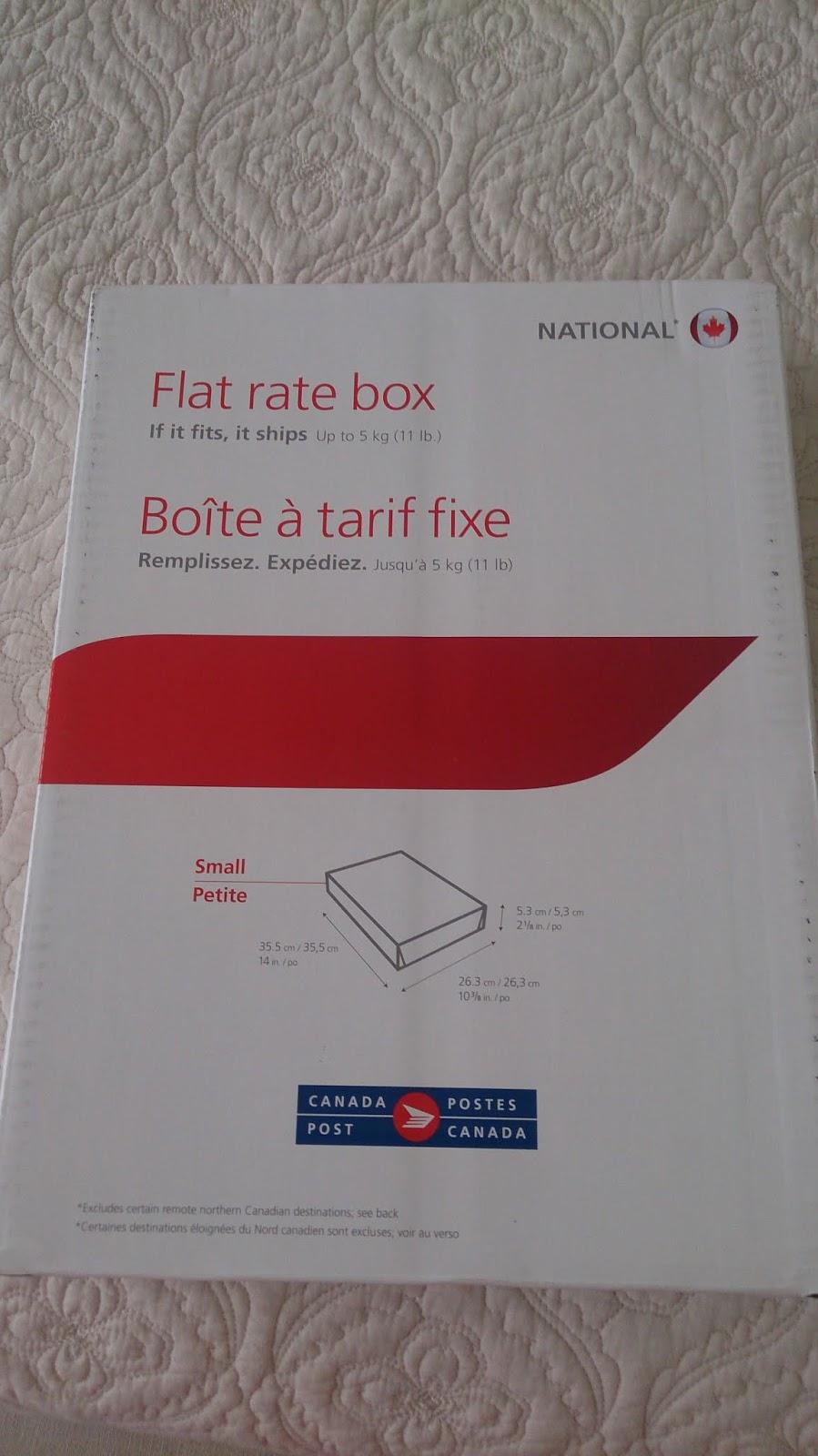 That British Woman Flat Rate Box