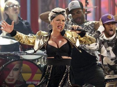 Foto de Pink en el escenario