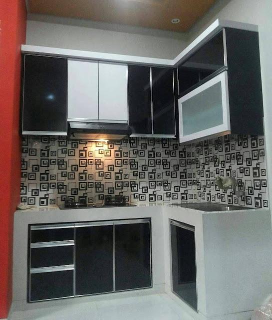 Jasa Kitchen Set Kayu Gresik
