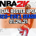 NBA 2K21 OFFICIAL ROSTER UPDATE 01.24.21 LATEST TRANSACTIONS and LINEUPS UPDATED