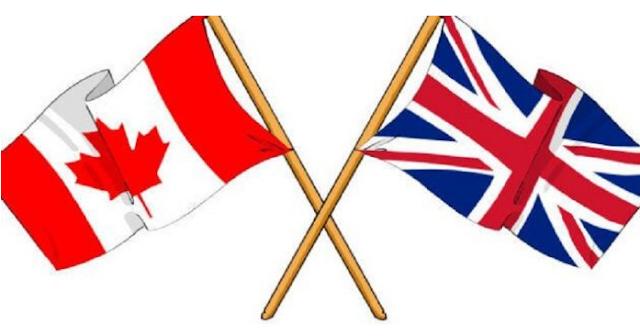 اتفاقية التجارة المؤقتة بين كندا وبريطانيا بعد خروج بريطانيا من الاتحاد الأوروبي