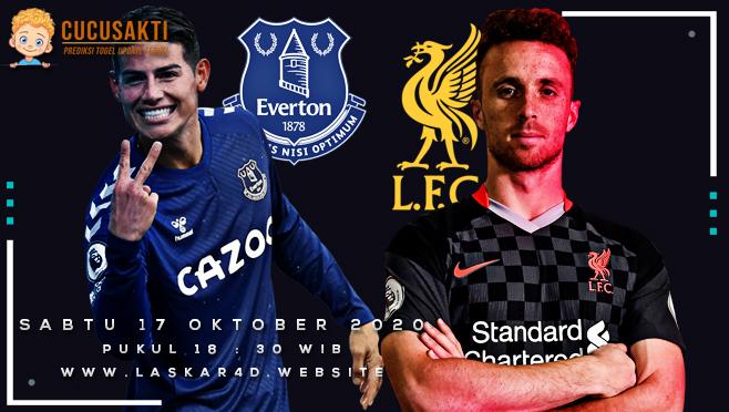 Prediksi Bola Everton vs Liverpool Sabtu 17 Oktober 2020