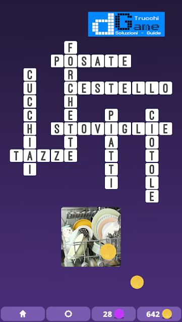 Soluzioni One Clue Crossword livello 3 schema intermedio (Cruciverba illustrato)  | Parole e foto