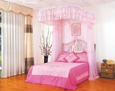 แบบห้องนอนเด็กพร้อมมุ้ง