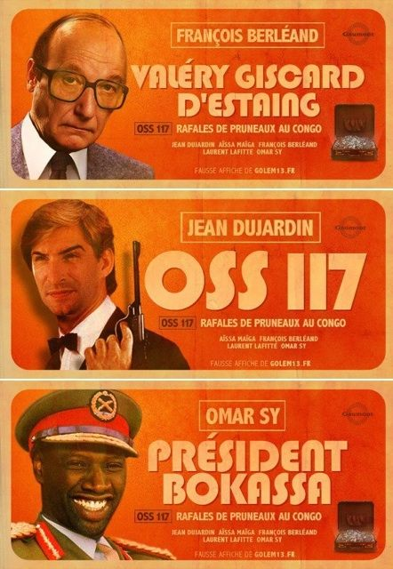 Cineblogywood Oss 117 Fausses Affiches Geniales