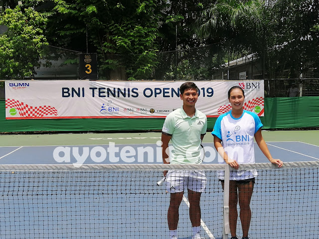Christo Belum Terbendung, Nauvaldo ke Babak Utama Turnamen Tennis Open di Jakarta