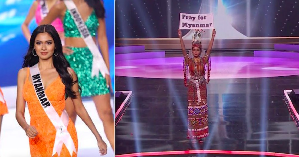 Myanmar Miss Universe Contestant Pleads 'Our People Are Dying'