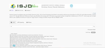 Indonesian Scientific Journal Database - PDII LIPI