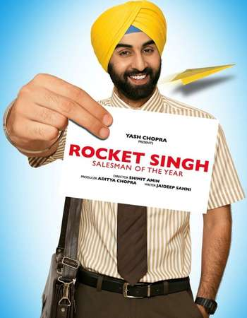 Poster Of Rocket Singh: Salesman of the Year 2009 Hindi 600MB BRRip 720p ESubs HEVC Watch Online Free Download downloadhub.in