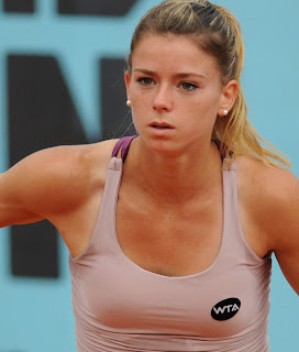 Camila Giorgi has risen to No 26 in the world following a successful 2018 season