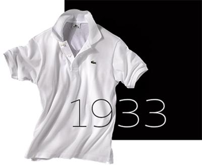 8a50e44e619d1 A camisa LACOSTE constituiu imediatamente uma revolução junto aos jogadores  de tênis da época, que vestiam durante os jogos, nessa altura, incômodas  camisas ...