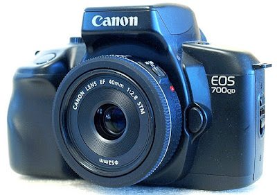 Canon EOS 700QD, Canon EF 40mm F2.8 STM