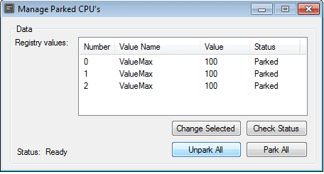 UnPark CPU - Libere todos os núcleos Download Grátis