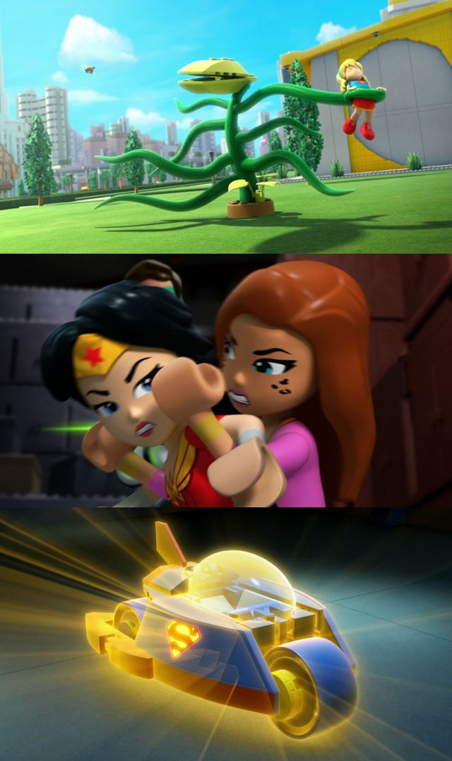 Lego Dc Super Hero Girls: Instituto De Supervillanos (2018) HD 1080p y 720p Latino